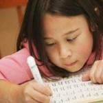 Cómo enseñar a escribir a un niño: evolución, ejercicios y trastornos
