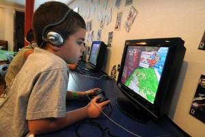 Los niños y los videojuegos