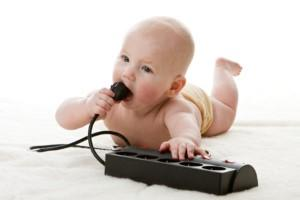 Cómo acondicionar la casa para un bebé que gatea