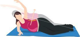Ejercicio 2 para el embarazo abdominales