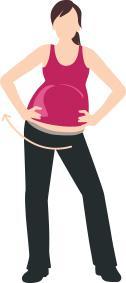 Ejercicio 4 para el embarazo abdominales