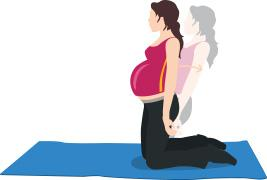 Ejercicio 5 para el embarazo abdominales