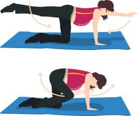 Los dolores en la espalda después de una alta temperatura