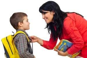 Consejos para apoyar al niño en su primer día de escuela