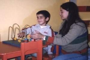 Como criar a un niño ciego