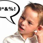 Mi hijo dice groserías: ¿qué puedo hacer?