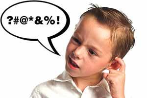 Mi hijo dice groserías: ¿qué hago?