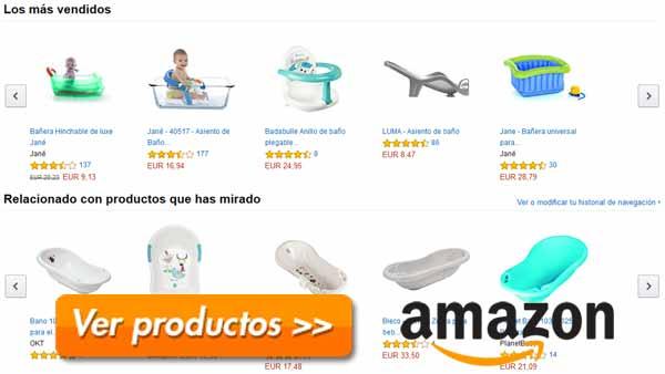 Catálogo de las mejores bañeras para bebés