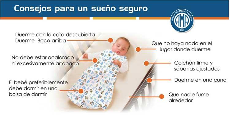 Cómo debe dormir un recién nacido
