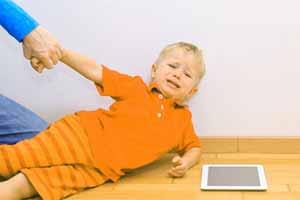Controlar los berrinches de tu hijo