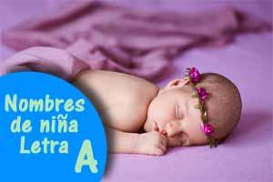 Nombres de niña con A y su significado